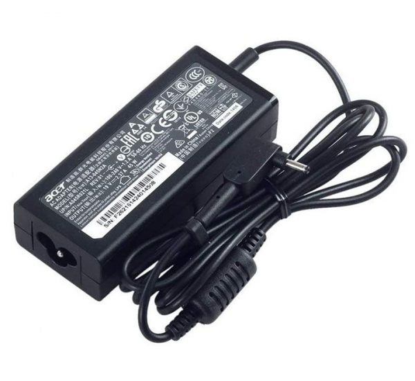 Acer Switch Alpha 12 SA5-271 SA5-271P 45W 19V 2.37A 3.0 x 1.1mm Original Laptop AC Adapter Charger