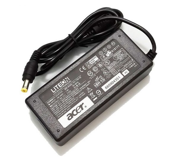 Acer TravelMate 5520 2000 220 230 2300 2310 2410 2450 2460 2470 2480 250 270 290 3270 65W 19V 3.42A 5.5*1.7mm Original Laptop AC Adapter Charger