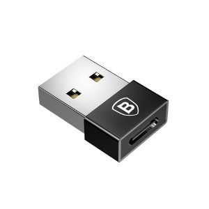 Baseus CATJQ-A01 Adapter USB To USB-C Exquisite Black