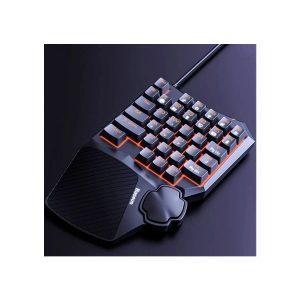 Baseus Gamo One-Handed Gaming Keyboard Black (GMGK01-01)